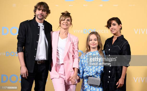 Nacho Lopez María Ripoll Mafalda Carbonell and Inma Cuesta attend Vivir Dos Veces Madrid Photocall on September 02 2019 in Madrid Spain