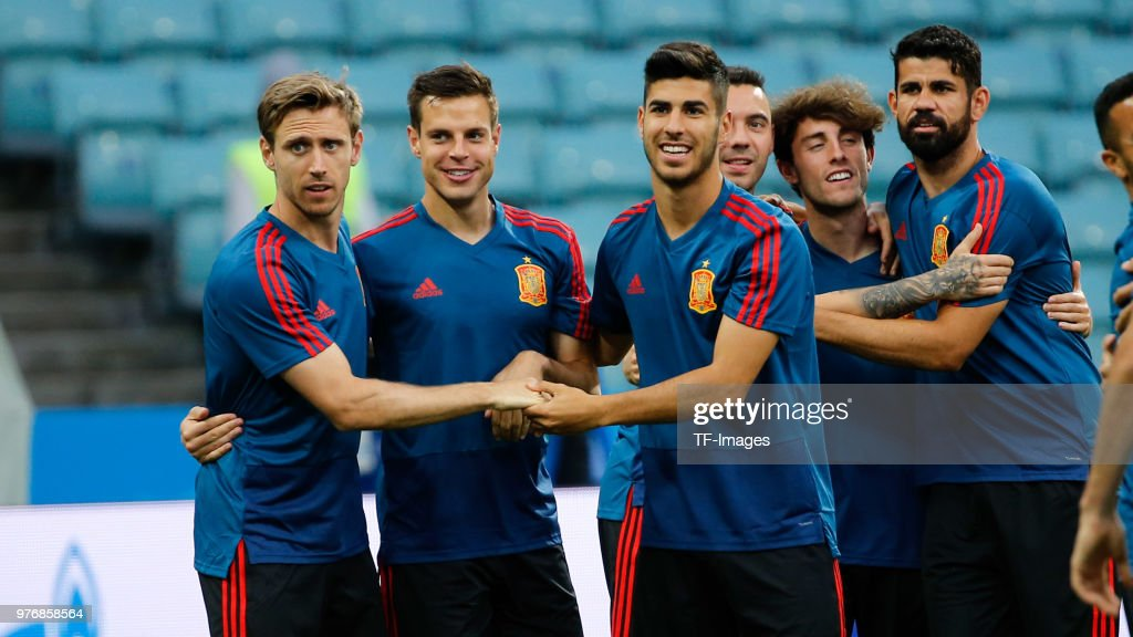 Spain Training Session - 2018 FIFA World Cup Russia
