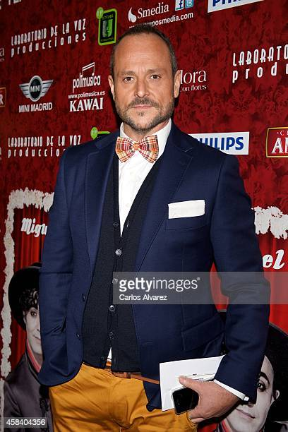 Nacho Montes attends Miguel de Molina al Desnudo premiere at the Santa Isabel Theater on November 4 2014 in Madrid Spain