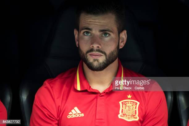 Nacho of Spain before the FIFA World Cup qualifying match between Spain and Italy at the Santiago Bernabéu Stadium on September 02 2017 in Madrid...