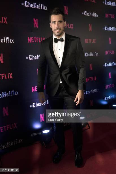 Nacho Viale attends the 'Che Netflix' red carpet at the Four Season Hotel on November 7 2017 in Buenos Aires Argentina