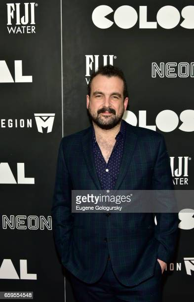 Nacho Vigalondo attends The Premiere of Colossal CoHosted by FIJI Water at AMC Lincoln Square Theater on March 28 2017 in New York City