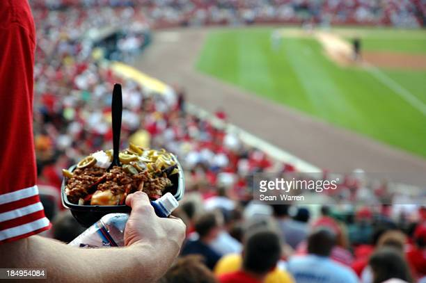 nachos & sports - baseball sport stock pictures, royalty-free photos & images