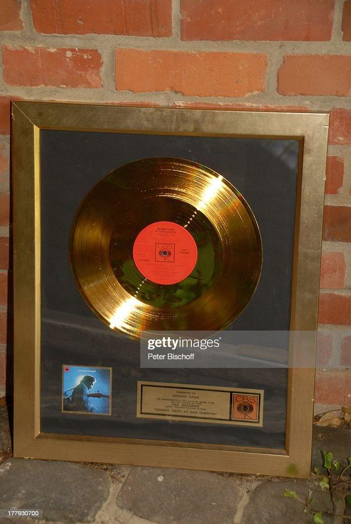 Nachtragliches Geschenk Zum 70 Geburtstag Von G Gabriel Mit Gold Lp