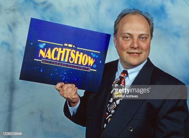 Nachtshow, Late-Night-Talkshow, Deutschland 1994, Moderator Thomas Koschwitz