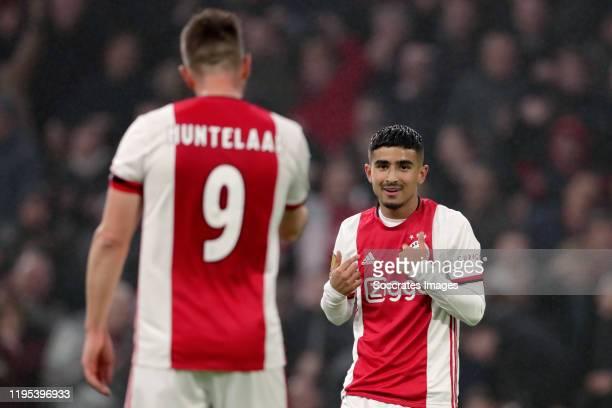 Naci Unuvar of Ajax during the Dutch KNVB Beker match between Ajax v Spakenburg at the Johan Cruijff Arena on January 22, 2020 in Amsterdam...