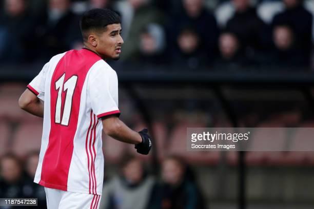Naci Unuvar of Ajax U19 during the match between Ajax U19 v Valencia U19 at the De Toekomst on December 10 2019 in Amsterdam Netherlands
