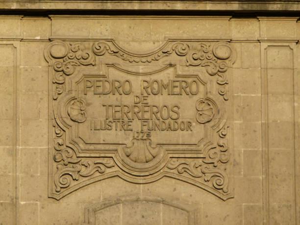 Nacional Monte de Piedad building detail in downtown Mexico City, Mexico