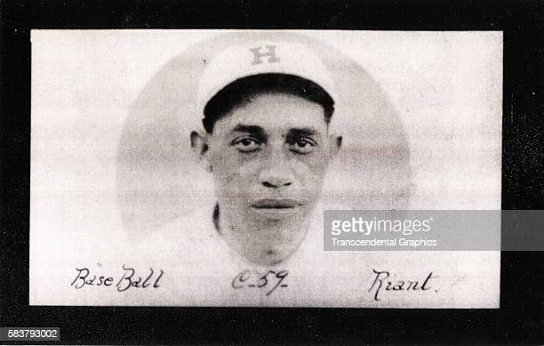 Nacionalesbrand cigarette card features Cuban and Negro league baseball player Red Ryan Havana Cuba 1924