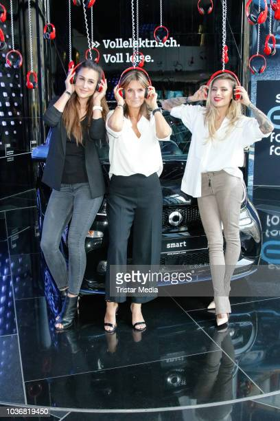 Nada Ivanovic Sophia Thomalla and Kim Fisher attend the 20 Years Smart Car event on September 20 2018 in Berlin Germany