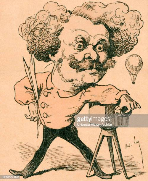 Nadar pseudonym of GaspardFélix Tournachon 1820 – 1910 French photographer caricaturist journalist novelist and balloonist After a 19th century...