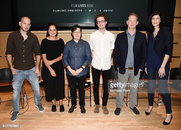 Nadav Lapid Francisca Alegria Jude Dry Lewie Kloster Matt Tyrnauer and Lisanne Skyler attend the 54th New York Film Festival NYFF Live Short Film...