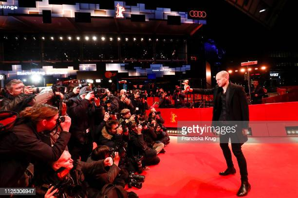 Nadav Lapid poses after the closing ceremony of the 69th Berlinale International Film Festival Berlin at Berlinale Palace on February 16 2019 in...