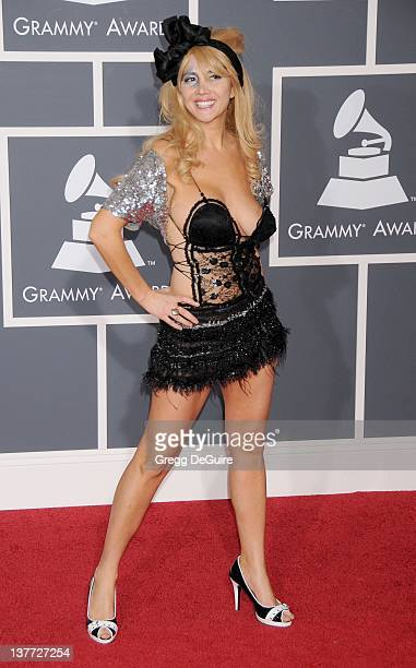 Nadeea Volianova arrives at the 52nd Annual GRAMMY Awards held at the Nokia Theater on January 31 2010 in Los Angeles California