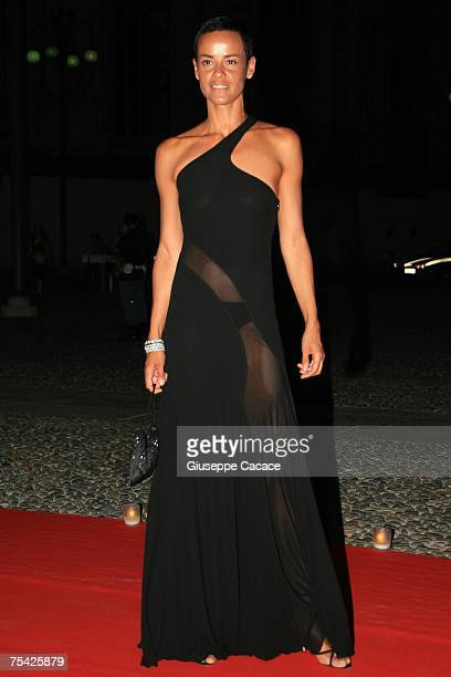 65f5ec7294b Nadege arrives at the dinner at Palazzo Reale after the ballet Thanks Gianni  with Love to