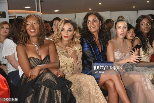 Nadege Beausson Diagne Louisy Joseph Laurence RoustandjeLina LindhomAssa Sylla attend the Christophe Guillarme show as part of the Paris Fashion Week...