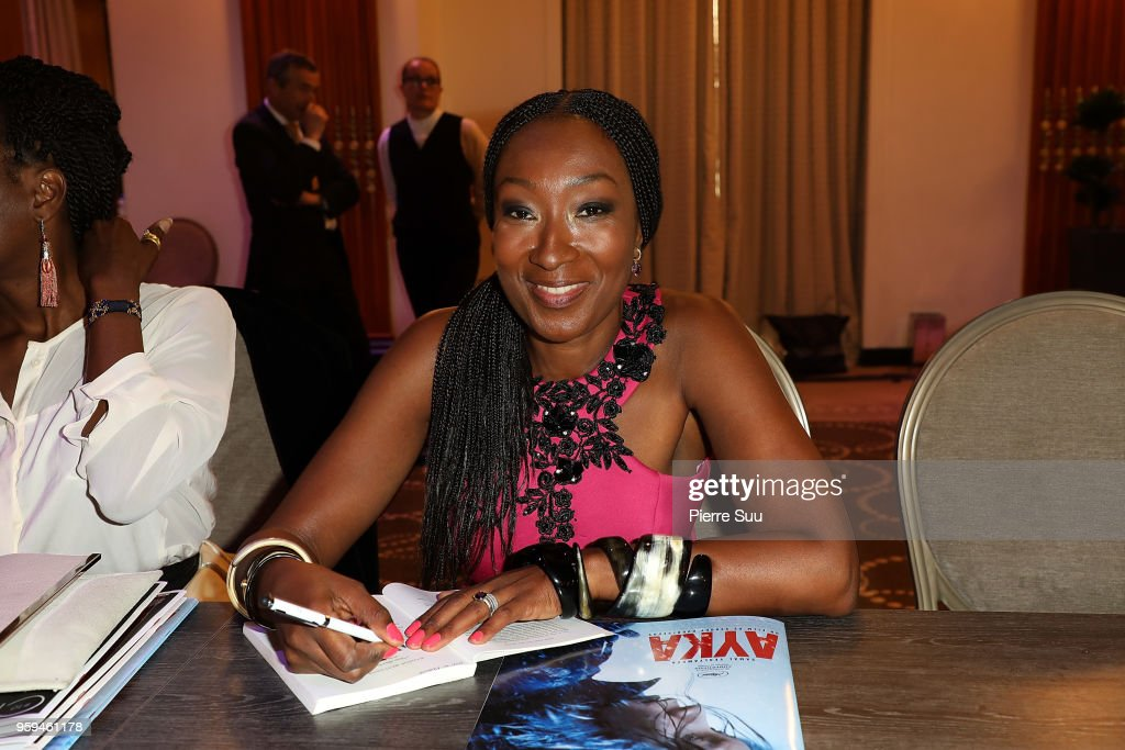 'Noire N'Est Pas Mon Metier' : Aissa Maiga's Book Signing At Hotel Majestic - The 71st Annual Cannes Film Festival