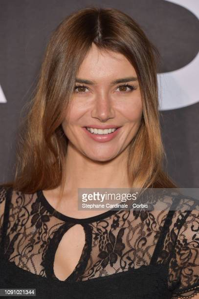 Nadege Dabrowski aka Andy Raconte attends the 'Glass' premiere at Cinematheque Francaise on January 07 2019 in Paris France