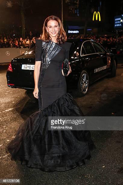 Nadeshda Brennicke arrives at the Bambi Awards 2014 on November 13, 2014 in Berlin, Germany.