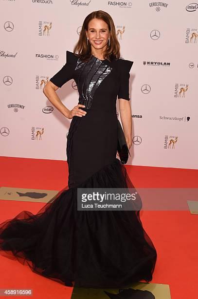 Nadeshda Brennicke attends Kryolan at the Bambi Awards 2014 on November 13, 2014 in Berlin, Germany.