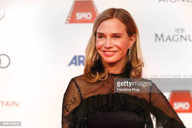 Nadeshda Brennicke attends the German Film Ball 2018 at Hotel Bayerischer Hof on January 20, 2018 in Munich, Germany.