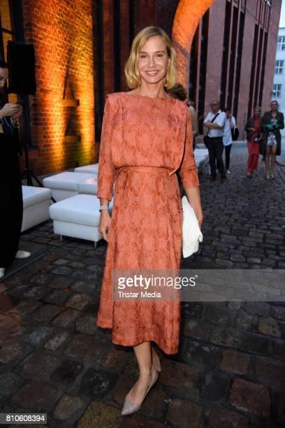 Nadeshda Brennicke attends the MICHALSKY StyleNite during the Mercedes-Benz Fashion Week Berlin Spring/Summer 2018 at e-Werk on July 7, 2017 in...