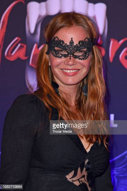 Nadeshda Brennicke attends the musical premiere of 'Tanz der Vampire' at Theater des Westens on October 21, 2018 in Berlin, Germany.