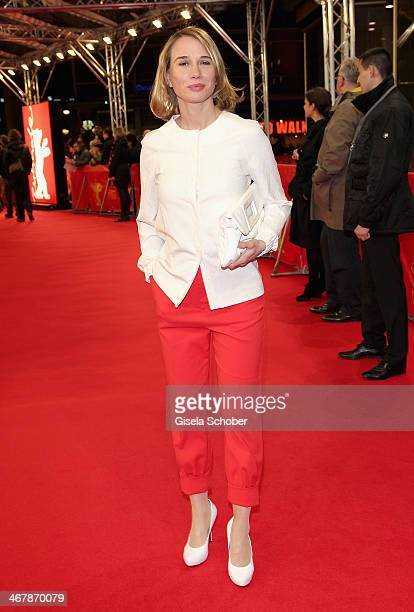 Nadeshda Brennicke attends the Stereo premiere during the 64th Berlinale International Film Festival at the Zoo Palast on February 8 2014 in Berlin...
