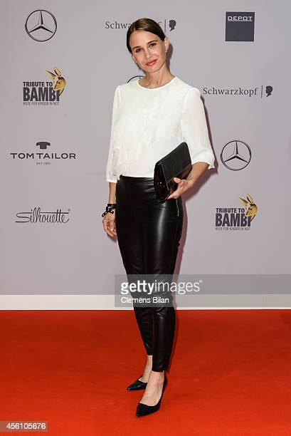 Nadeshda Brennicke attends the Tribute To Bambi 2014 at Station on September 25, 2014 in Berlin, Germany.