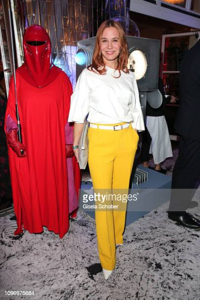 Nadeshda Brennicke during the PLACE TO B Berlinale party of BILD at Borchardt Restaurant on February 9 2019 in Berlin Germany