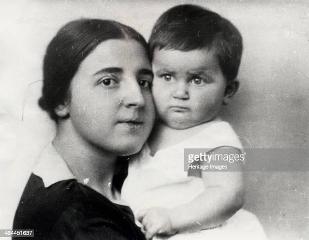 Nadezhda Alliluyeva, second wife of Josef Stalin, and their daughter Svetlana Alliluyeva, 1927. Nadezhda Alliluyeva married Stalin in 1919. Her death...