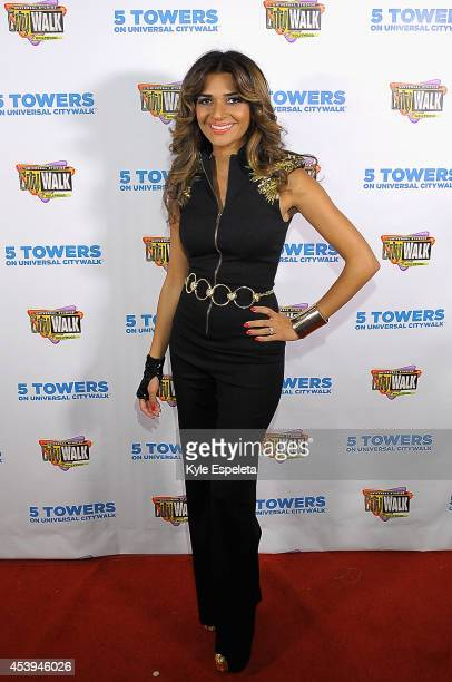 Nadia Ali arrives at the Nadia Ali and Grand Warren Electrify concert during Universal CityWalk's Music Spotlight Series at Universal CityWalk's 5...