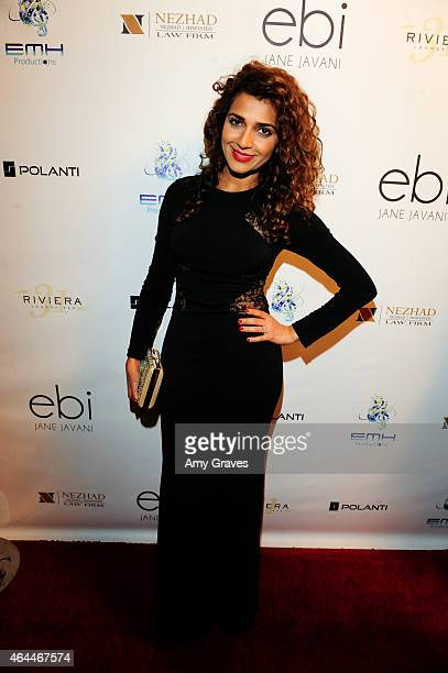 Nadia Ali attends the Ebi Album Release Party at Sofitel Hotel on February 19 2015 in Los Angeles California