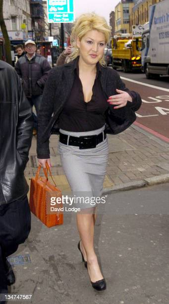 Nadia Almada during Big Brother 5's Nadia Almada Appears In Court to Face Charges of Alleged Common Assault March 16 2006 at Highbury Corner...