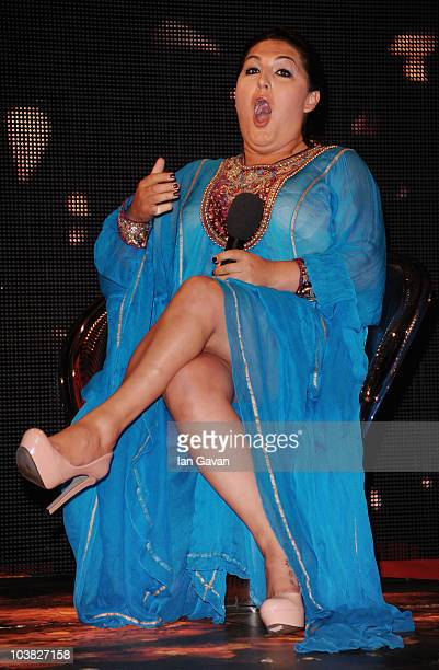 Nadia Almada is evicted from the Ultimate Big Brother House on September 3, 2010 in Borehamwood, England.