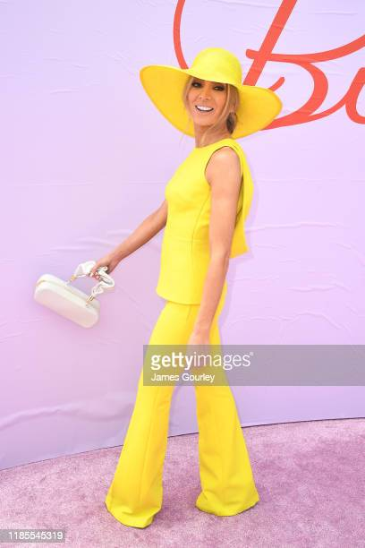 Nadia Bartel attends Melbourne Cup Day at Flemington Racecourse on November 05 2019 in Melbourne Australia