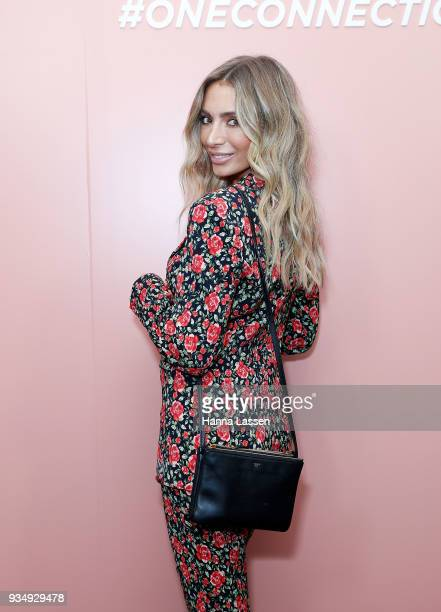 Nadia Bartel attends the Bumble Bizz launch on March 20 2018 in Sydney Australia