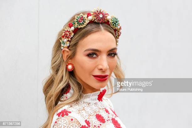 Nadia Bartel poses at the Melbourne Cup CarnivalPHOTOGRAPH BY Chris Putnam / Barcroft Images 44 207 033 1031 Ehello@barcroftmediacom New YorkT1 212...