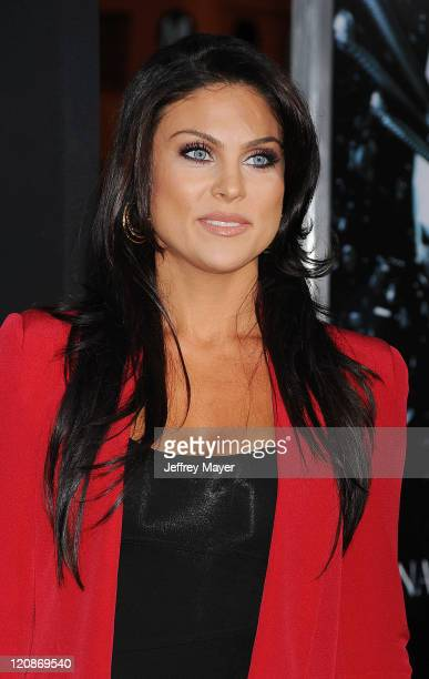 Nadia Bjorlin arrives at the Final Destination 5 Los Angeles Premiere on August 10 2011 at Grauman'S Chinese Theatre in Hollywood California
