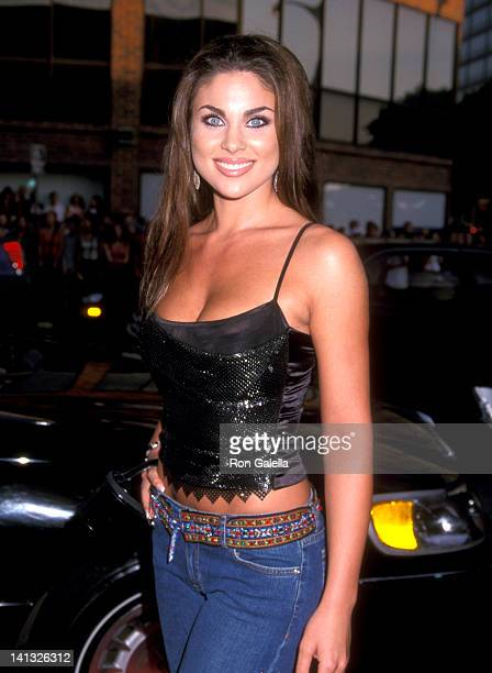 Nadia Bjorlin at the Premiere of 'American Pie 2' Mann National Theatre Westwood