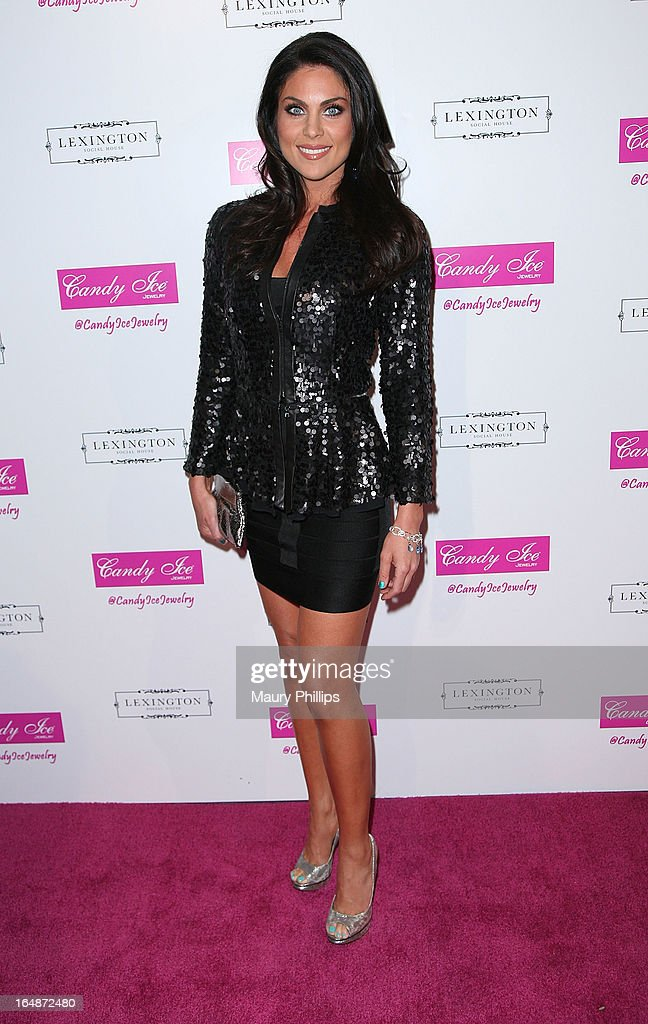 Nadia Bjorlin attends Fire & Ice Gala Benefiting Fresh2o at Lexington Social House on March 28, 2013 in Hollywood, California.