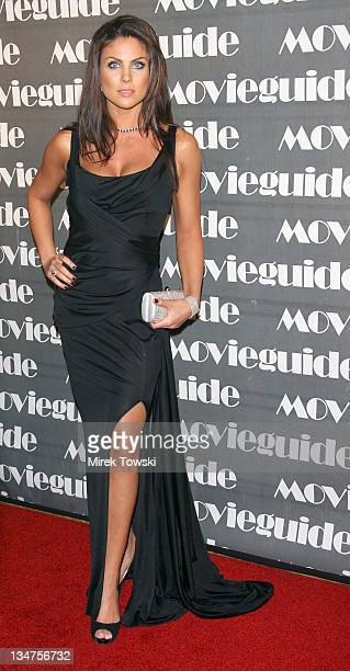 Nadia Bjorlin during 15th Annual Movieguide Faith and Values Awards at Beverly Wilshire Hotel in Beverly Hills, California, United States.