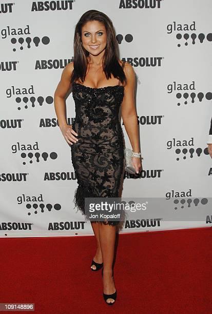 Nadia Bjorlin during 18th Annual GLAAD Media Awards Arrivals at Kodak Theatre in Hollywood California United States