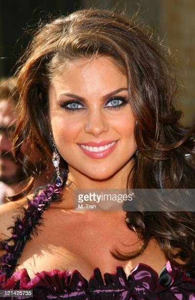 Nadia Bjorlin during 34th Annual Daytime Emmy Awards Arrivals at Kodak Theatre in Hollywood California United States