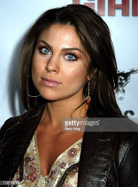Nadia Bjorlin during Dallas 362 Los Angeles Premiere Arrivals at The ArcLight in Hollywood California United States