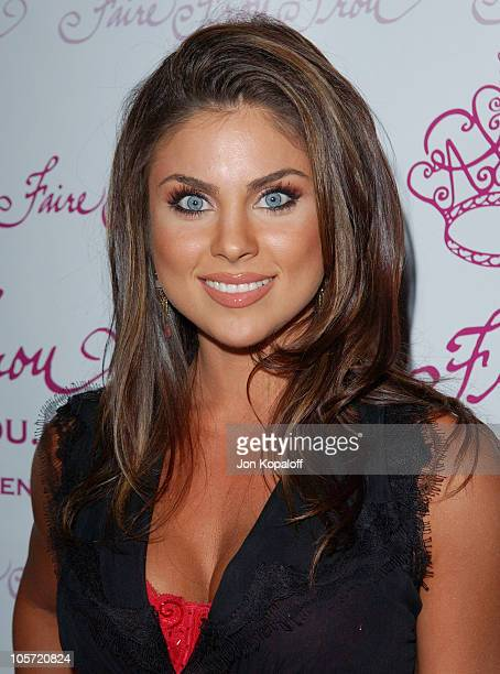 Nadia Bjorlin during Faire Frou Frou Grand Opening Celebration Arrivals at Faire Frou Frou Boutique in Studio City California United States