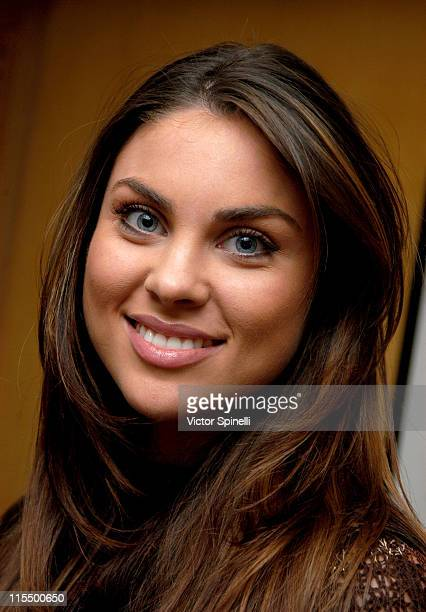 Nadia Bjorlin during On The Rocks Doris Panos Oscar Suite Day 4 at L'Ermitage Hotel in Beverly Hills California United States