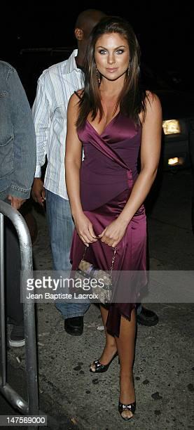 Nadia Bjorlin during Paris Hilton Josh Henderson and Kim Kardashian Depart Area Nigthclub April 10 2007 at Area Nigthclub in West Hollywood...