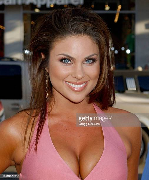 Nadia Bjorlin during The Dukes of Hazzard Los Angeles Premiere Arrivals at Grauman's Chinese Theatre in Hollywood California United States