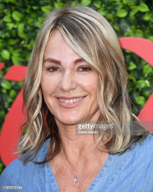 Nadia Comaneci arrives at the 7th Annual Gold Meets Golden at Virginia Robinson Gardens and Estate on January 04 2020 in Los Angeles California